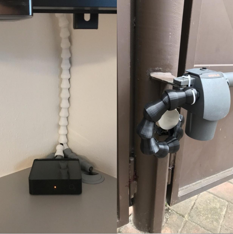Pohyblivý kabelový systém